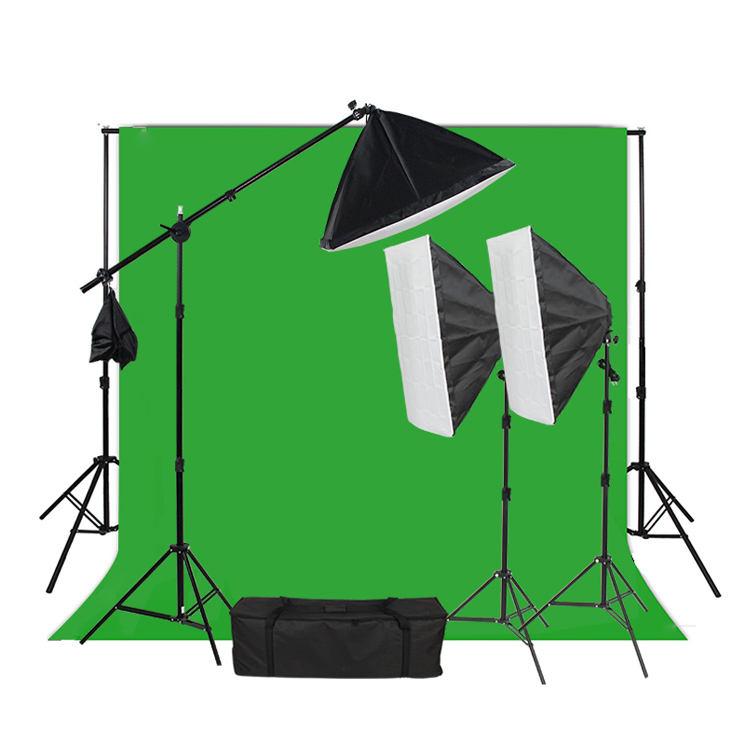 50*70 سنتيمتر 4 رئيس softbox إضاءة الاستوديو آلة تصوير فوتوغرافي