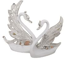 New design  Desk Decoration  Resin Swan Statues