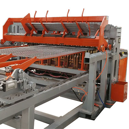 Hebei Fanlian fully automatic welded wiremesh panel machine experience wire mesh welding machine price