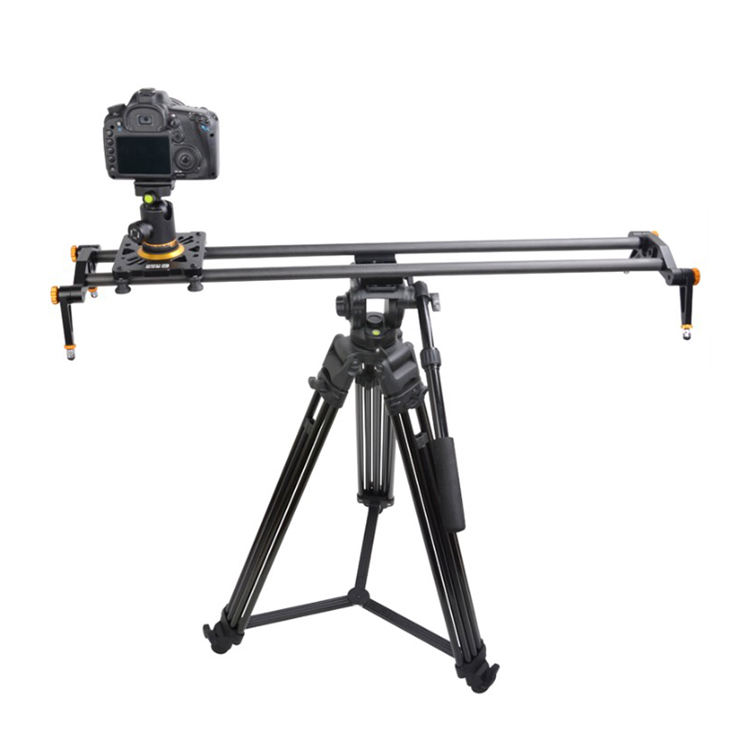 2018 Leadwin High Quality Professional Dslr Camera Slider <span class=keywords><strong>Dolly</strong></span> 100 Cm Slider For Small SLR Camera