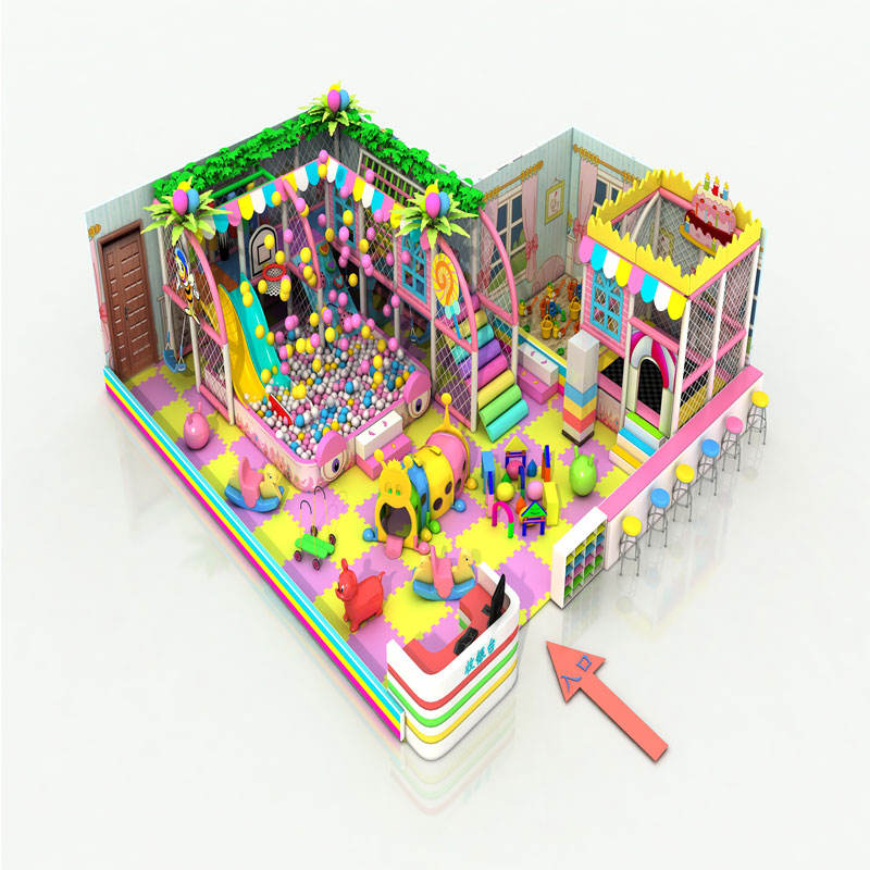 Amusement Park Children Indoor Playground Soft Play Packages