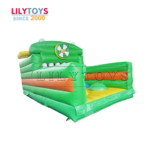 Christmas custom Obstacle Course inflatable Football Soccer Ball Sporting Goods with price
