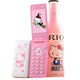 D10 Flip Dual SIM Card GPRS Breath Light Touch Screen Cell Phone Women Girl MP3 MP4 Cartoon Hello Kitty Mobile Phone