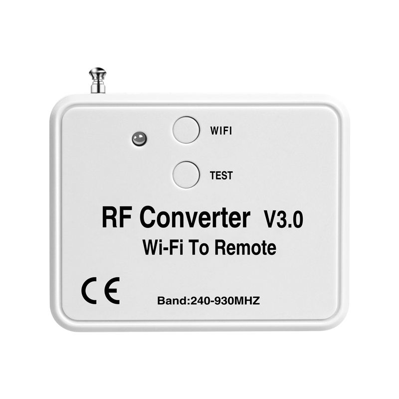 Multi frequency automation smart home combine multiple remotes in one converter