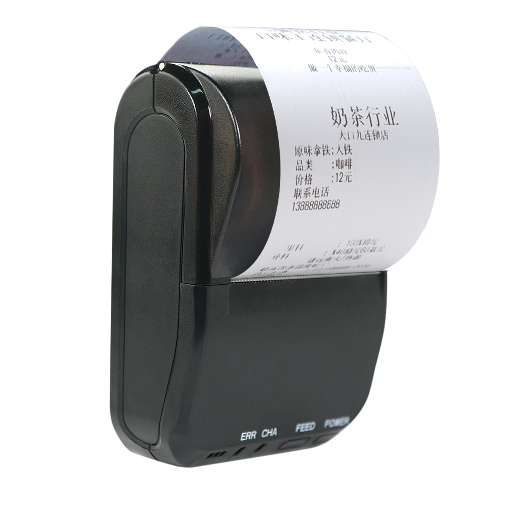 2inch or 3inch portable handheld wireless thermal 58mm/80mm ticket printer machine cheap price 58S