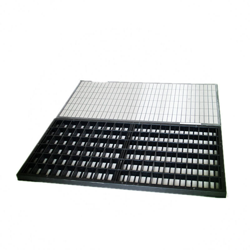 shale shaker screen steel frame and composite