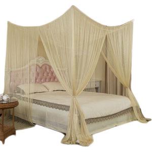 Forart 4 Postes de Cama con Dosel de Esquina Cortinas de Dosel mosquiteros Accesorios de decoraci/ón de Dormitorio para ni/ñas Adultas