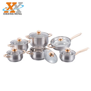 New Product Vietnam Prestige Cookware Sets Stainless Steel Induction Cookware