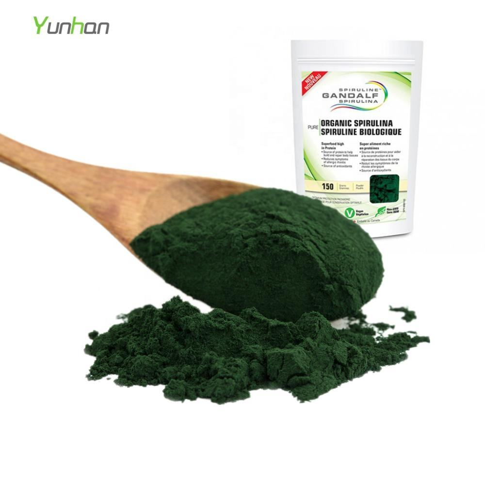 Spirulina and Chlorella Powder Free Sample USDA Organic Premium Algae Chlorella Spirulina Powder