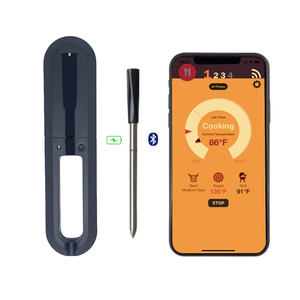 Wireless Smart Fleisch Thermometer Bluetooth Funktion APP Thermometer Für Grillen