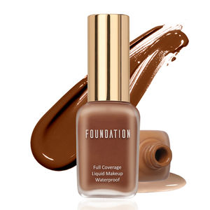 AR05 Cosmetic makeup halal foundation full coverage private label foundation