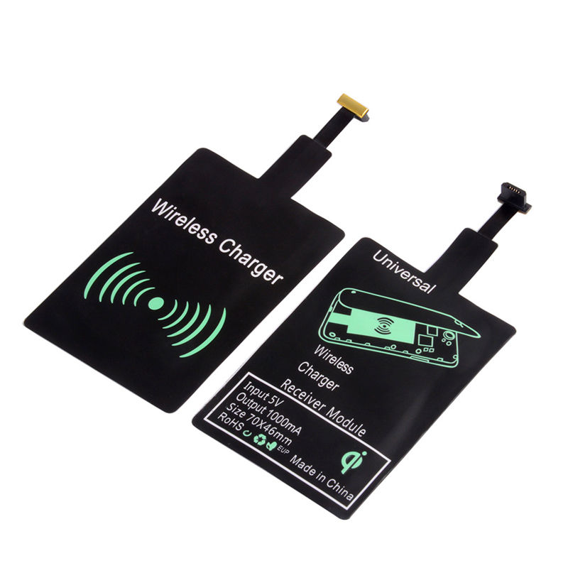 2020 Wireless Charger Universal QI Wireless Charger Receiver Modul untuk iPhone X 6 7 8 PLUS Samsung S7 S8 edge Note 8