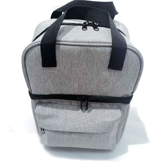 recycled anti-bacterial Fruit Thermal Food Delivery Polyester Tote Lunch Insulated Cooler Bags