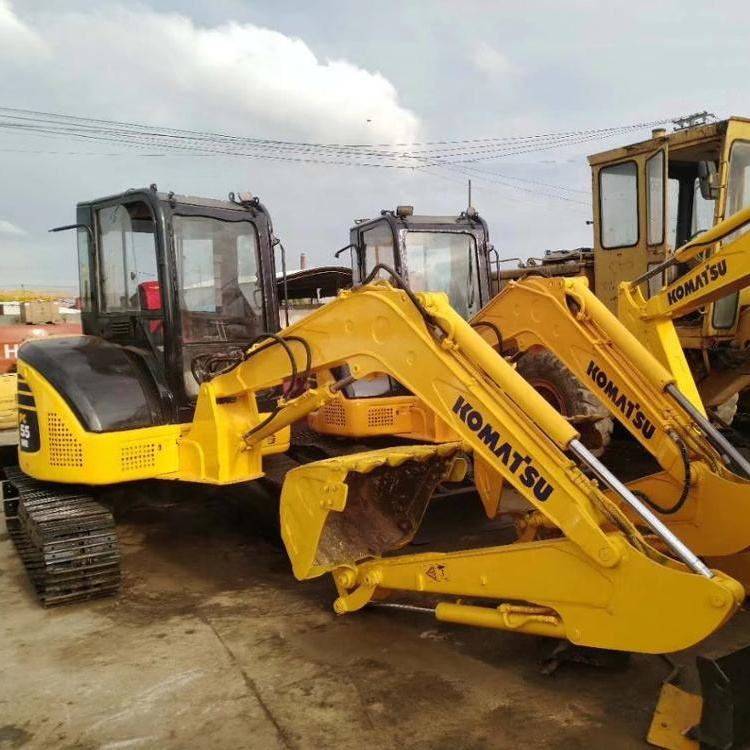 Used Japan Komatsu PC55 MR 5TON Mini Used Excavator for Sale