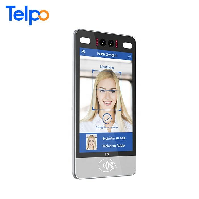 Telpo F8 IP66 Outdoor Dual Camera Face Recognition For Access Control with NFC reader Android or Linux System Option
