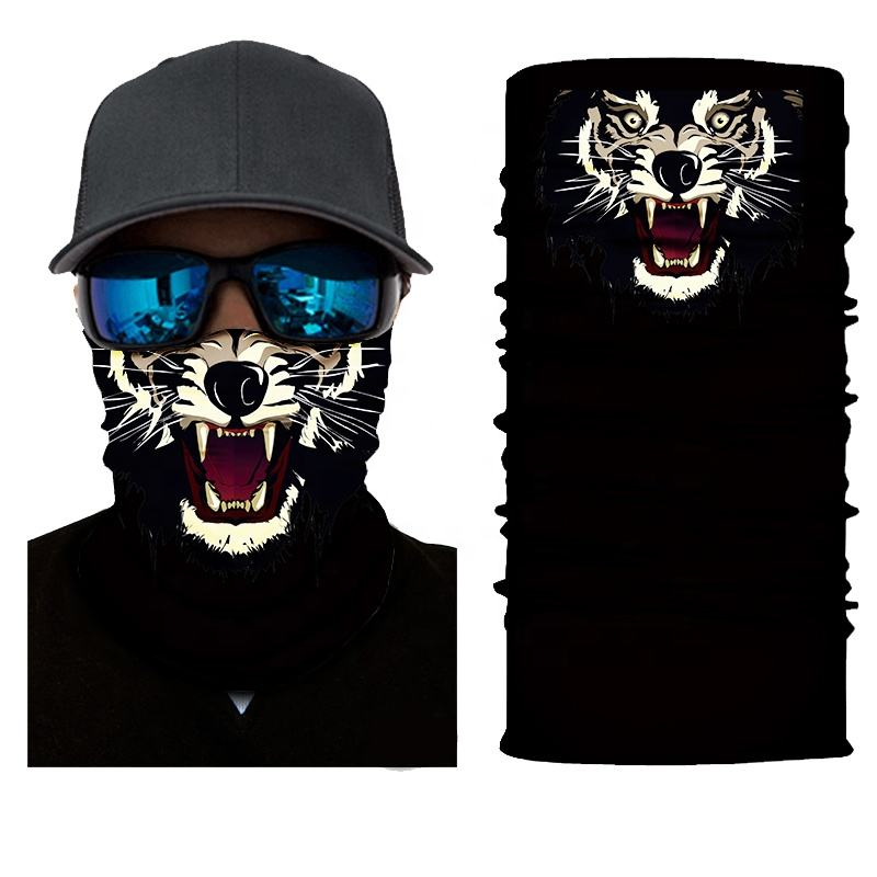 Animal 2019 Scarf Neck Headwear Climbing Tubular Turban Custom Motorcycle Bandana