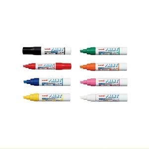 Special price Industrial permanent paint marker pen PXA-300(8 colors) for metal, glass, plastic, rubber, wood, Made in Japan