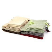 Custom printed affordable soft cotton flannel dust bag jute dust filter bag jute bags green