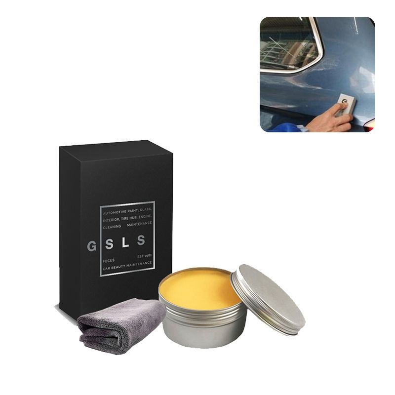 100g Car Body Carnauba Car Wax Soft Wax For Car Care