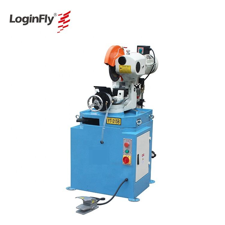 small diameter semi automatic pipe cutting machine for metal