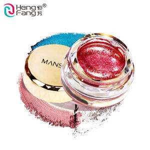 Bling Mata Makeup Halus Lembut Tekstur Glitter Jelly Magic Eyeshadow