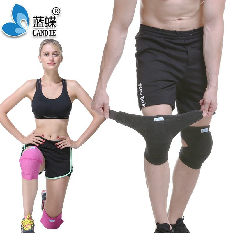 Professional Protective Heavy Duty Garden Gel Knee Pads With Adjustable Strap As Rough Work Gear For Men and Women