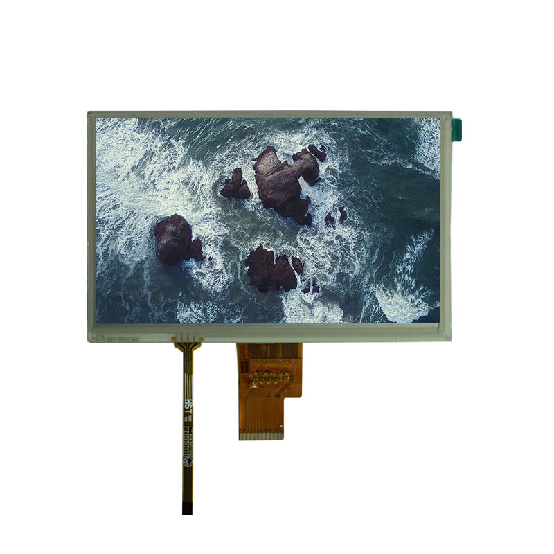 Guangdong 1024x600 Resolution 7 Inch LVDS Interface 40 Pin Spare Display with Touch for Home DVD VCD Players