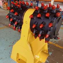 ATLAS excavator drum cutter