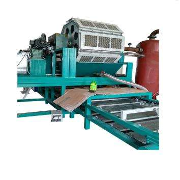 Paper product making machine circular economy egg tray packing machine / production line