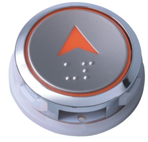 AK-32 round type elevator button ,size in 35mm diameter used for hyundai elevator