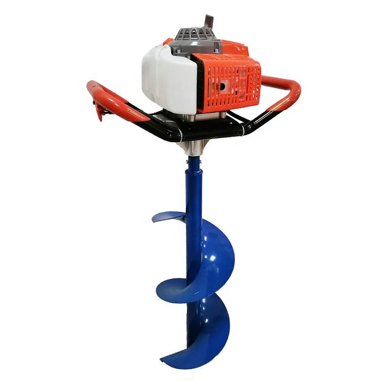 Cheap High Quality Tree Planting Gasoline Type Earth Auger Drilling Machine