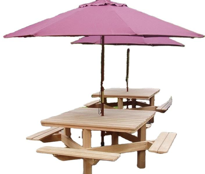 luxury beauty red coffee shop decoration wooden umbrella
