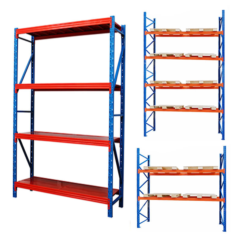 CE certificate heavy duty flower rack metal racking racking plastic pallets for warehouse