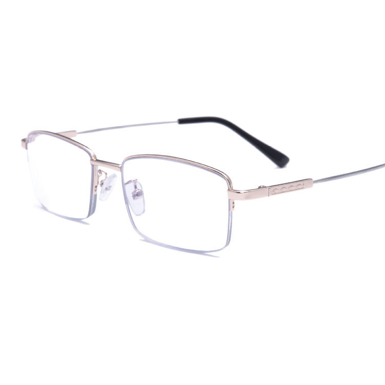 Half Memory Metal Progressive multifocal Reading glasses anti blue light blocking computer reading glasses