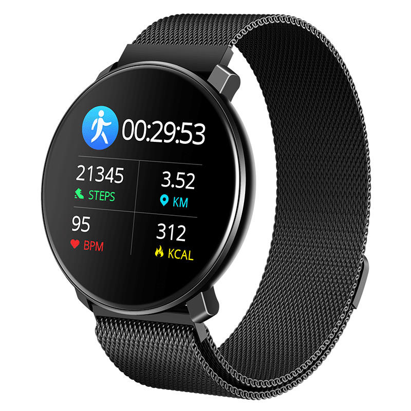 2020 New Amazon best selling T20 body temperature smart watch pedometer heart rate smart bracelet reminder sports bracelet