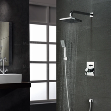 Kaiping mlfalls modern shower head bathroom with handheld shower and fittings faucet mixer