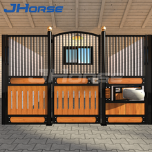 portable bamboo wooden equine horse stall stables doors panels for sale