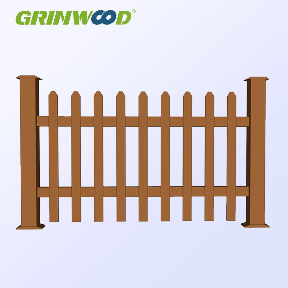 Environmental WPC Waterproof Wood Plastic Railing