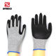 Nitrile Cut Resistant Black Cut Resistant Gloves Level 5 New Style Black Working Smooth Nitrile Coated On Palm Cut Resistant Gloves