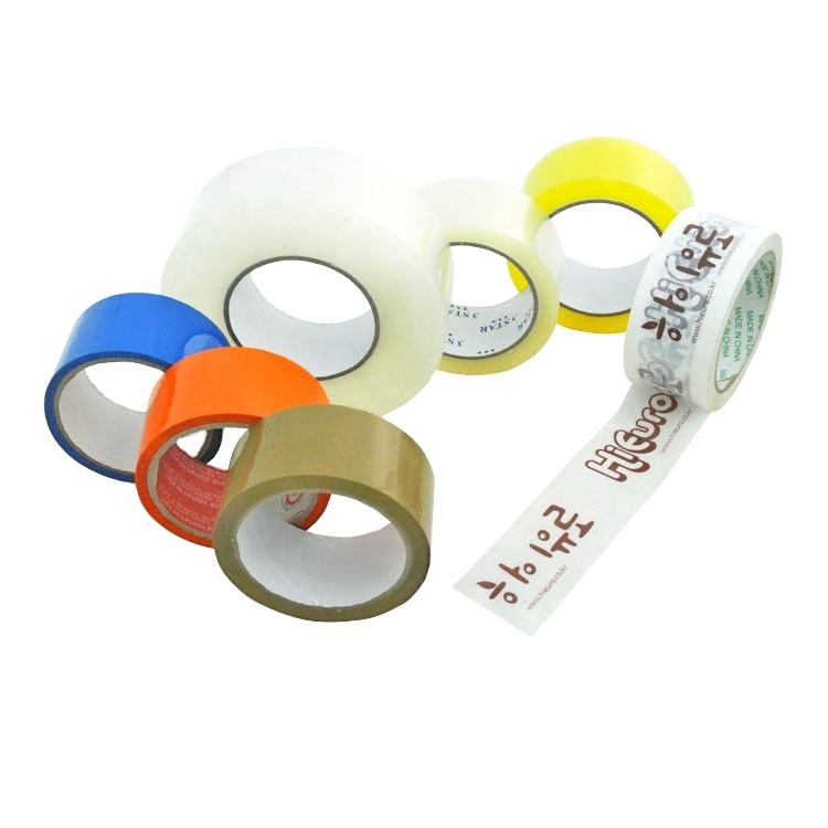 Fiber Glass Adhesive Self Carpet Edge Green Color Bopp Water Based Acrylic Clear Packing Tape