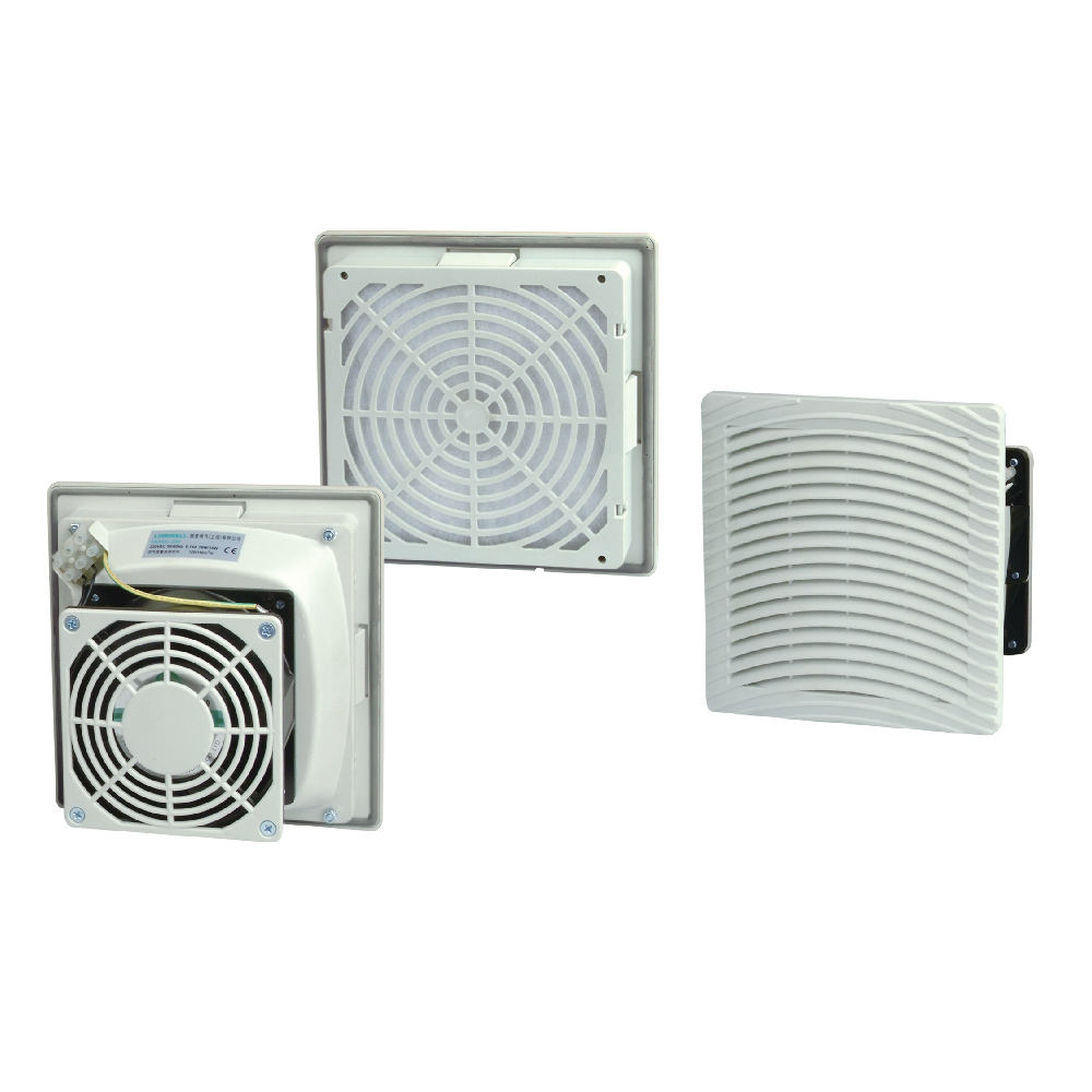 Linkwell IP54 control ventilation panel hepa fan filter