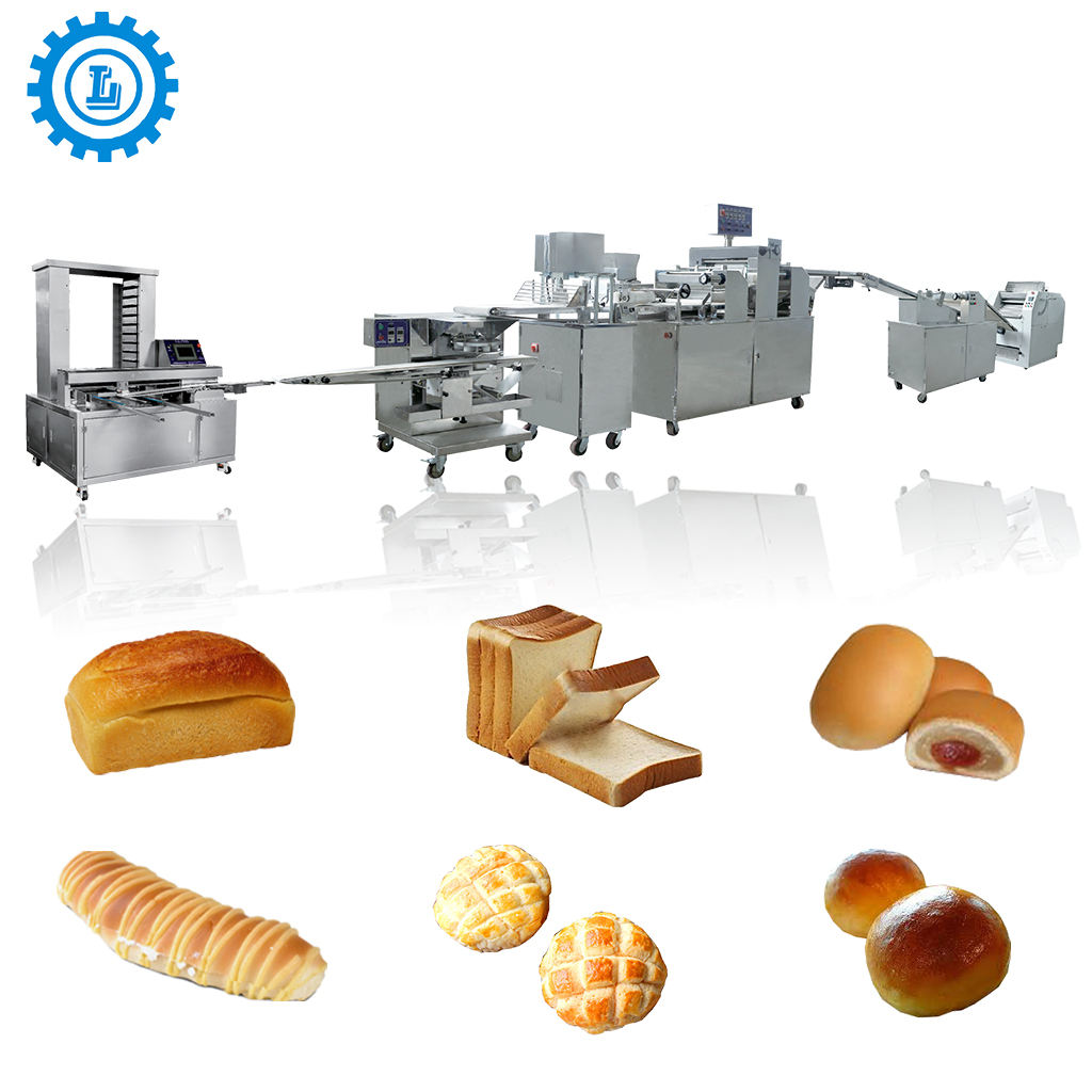 Commercial Automatic Bread toast baguette Making maker Machine production line
