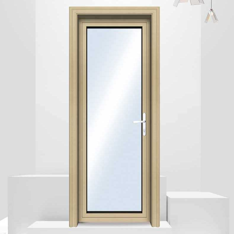 Cheap Price Double Glazed Aluminium Glass Hinged Door Garden Swing French Door Exterior Hinges Door