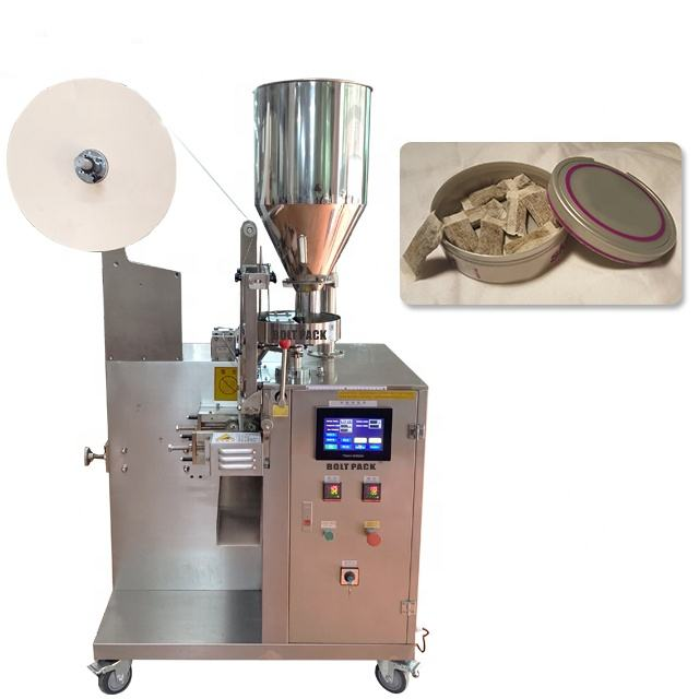 Automatic snus powder pouch packing machine