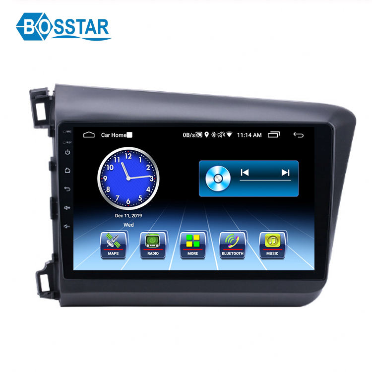 <span class=keywords><strong>Manufactory</strong></span> de Som Do Carro para Honda Civic 2012-2015 Android Rádio Do Carro Dvd Player Suporte 3G WI-FI