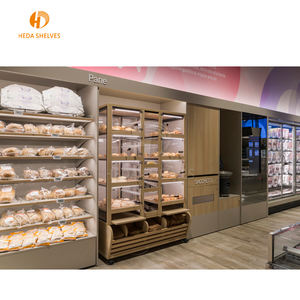 Factory Made Winkel Rekken Supermarkt Plank Drank Brood Display Rack
