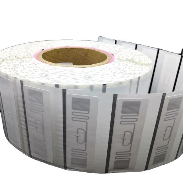 High Performance Asset Tracking Disposable Paper Roll ISO18000-6C MR6 ER62 Inlay UHF RFID Tag Label