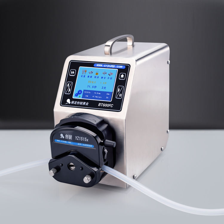 Small Bottle Filling Peristaltic Pump Liquid Dispensing peristaltic pump