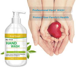 bulk private label custom logo 500ml bottles with pump  waterless Instant liquid hand wash toilet soap gel Manufacturers