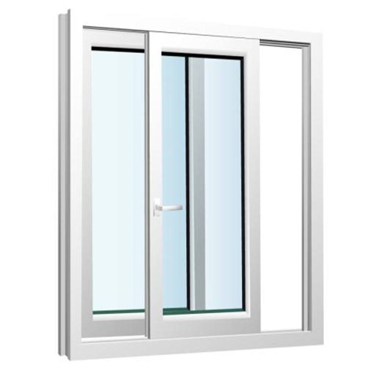 Design High Quality Interior Office Small Basement Pvc Profile Window And Door Upvc Sliding Windows